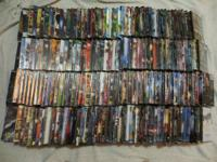Selling 186 brand name new dvds (shrink-wrapped). Great