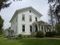 4 bed rooms, 2 complete restrooms; constructed 1830.