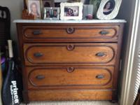 Chestnut cottage dresser, origin said to be from