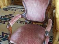 Was $398. Antique arm chair. Consignor states from the