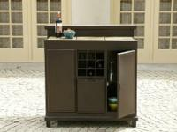 La-Z-Boy Outdoor Dylan Party Bar.  MSRP $1499.99. Our