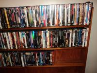 "I have for sale 189 DVD's in ""mint"" condition. Never"