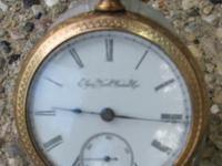This 1897 Elgin National Watch Company Railroad Pocket