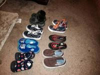 All clothing for 20 firm all shoes for 25 converse baby