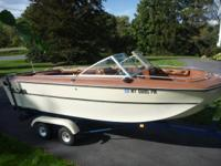 18 ft MFG Bowrider & Trailer- great condition -- many