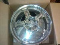 for sale 3) 18 inch rims off a cadillac cts, these rims