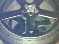 R wheels 18 inch 5x108 225/40/18 Michelin Tires Just