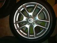 these wheels are off a 2009 maxima. they are in mint