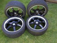I got this rims for sale rims are 18s 5 lugs universal