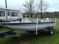 18ft 1990 Predator with 70hp 1982 Johnson. Short term