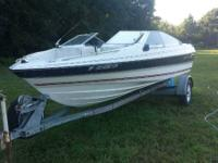 I have a great Bayliner boat. It is a 18 ft with a
