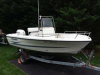 Up for sale is a 1999 Hydra Sports 1800 center console.