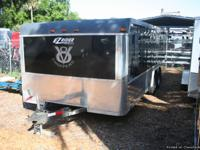This Pre-Owned Motorcycle trailer built by