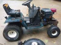"I have a Craftsman riding mower with a 42"" deck and"