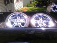 I have some clean ass rims for sale asking 600 obo need
