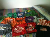 All in excellent condition 6 tshirts, 6 long sleeve