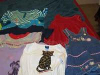 Approx 54 pieces of girl clothing 17 pieces of 18mth/