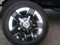 Brand new Dropstar rims 18inch with goodyear eagle rsa