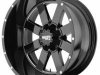 18x10 Moto Metal MO962B Black 8 Lug 35x12.5R18LT