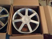 I have a set of refined factory caddy wheels. That I