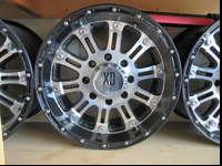 This set of XD hoss wheels are new I bought them from a