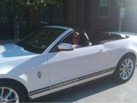 2010 Mustang Convertible V6 Premium with Pony and Sport