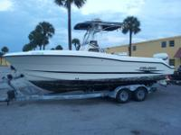 2000 Hydra Sport Vector 2390 Open Fisherman $19,100