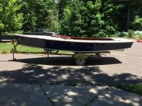 Please call owner Joel at . Boat is in New Auburn,