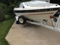 Please call owner Wayne at . Boat is in Fond du Lac,