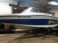 Please call owner Dean at . Boat Location: Stoneboro,