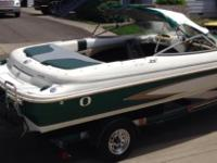 Please call owner Joe at . Boat is in Central Point,