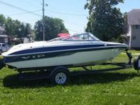 Please call owner Dustin at . Boat is in Leon, Iowa.