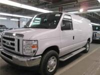 2012 Ford E-250 Commercial, Oxford White, 29,447 NEW,