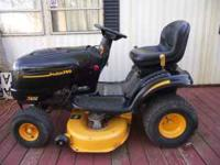 For sale 19.5 hp 42 inch cut Poulan Pro Riding