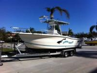 2002 Sea Pro 235CC This is a Brokerage boat. It is a