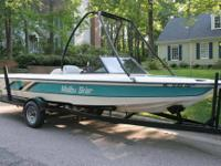Call Boat owner Eric . 1993 Malibu Skier, closed bow,