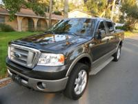 Ford King Ranch F-150 4x4 Supercab Pickup in Excellent