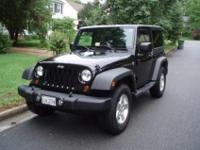 2 door, 2008 Jeep Wrangler X Sport, 4x4, 3.8L 6