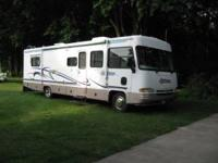 This 31 ft. motorhome has always been stored inside,