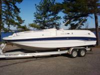 We have a very nice 1999 Chaparral deck boat for sale
