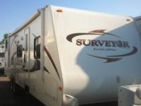 2011 Forest River Surveyor 305 Travel Trailer 36' with