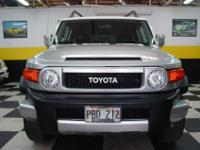 This 2007 Toyota FJ Cruiser four door two wheel-drive