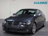 2008 BMW three SERIES two DOOR CPE 335I RWD COUPE, 2008