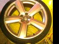 "I have 4 19"" Audi wheels and tires for sale. I love the"