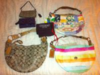 I am offering 5 authentic juicy couture bags, 3 juicy
