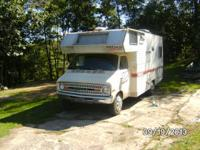 hello up for sale is a 1972 dodge camper 19' long.  360