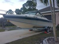 I have a Chaparral boat 1987 198 C XL with cabin, 19Ft,