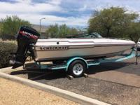 FUN, FUN, FUN! GREAT RUNNING BOAT! 19' Closed Bow