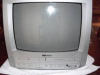 "19"" EMERSON TV / DVD / VCR Triple Combo -- 19 inch"