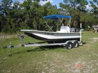 Runs Good, 75 hr Motor, Tandaim Axal Trailer,Bimini.